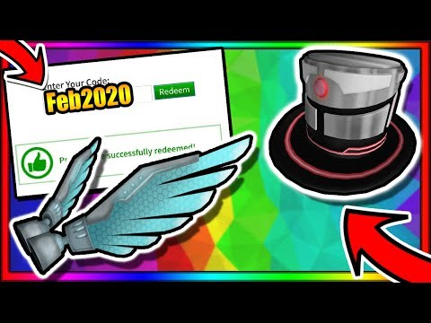 (FEBRUARY 2020)  *ALL* WORKING ROBLOX PROMO CODES! + *NEW* SECRET FREE ITEMS!