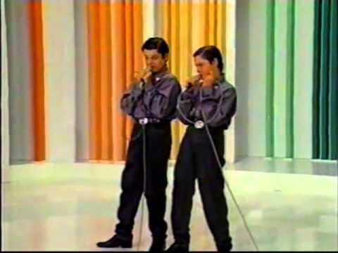 Luiz e Luizinho - Vira Virou - 1992 Programa Raul Gil