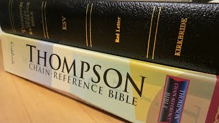 Thompson Chain ESV Black bonded leather, For Brother BJ.