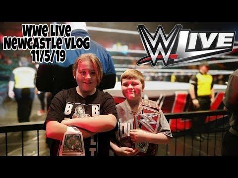 WWE LIVE NEWCASTLE 11/5/19 #WWENewcastle #WWELIVE #UTILITAARENA