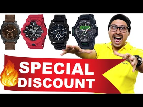 G SHOCK, Fossil, Titan Watches - Huge Discount | Don't Miss