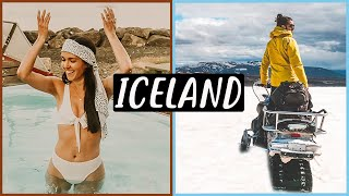 LAND OF FIRE & ICE | Van Life in Iceland | Eamon & Bec