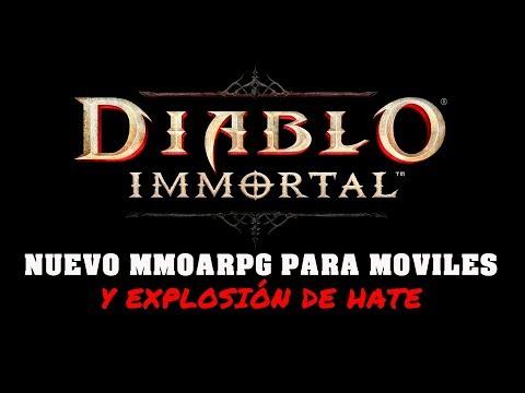 Diablo Immortal - Nuevo MMOARPG solo para móviles y !la que se ha liado!