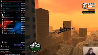 Grand Theft Auto: San Andreas any% in 3:57:18