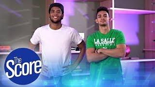 Jerrick Ahanmisi and Jordan Bartlett talks about life as Fil-Am ballers   The Score