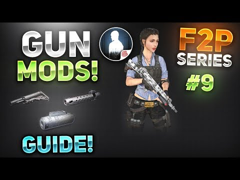 HOW TO MAKE WEAPON MODIFICATIONS! NOOB TO PRO PART #9 - F2P Series - LifeAfter