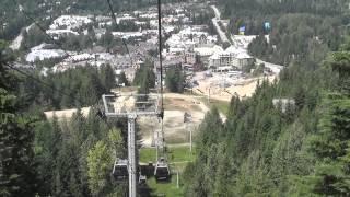 Whistler Village & the Peak 2 Peak Gondola