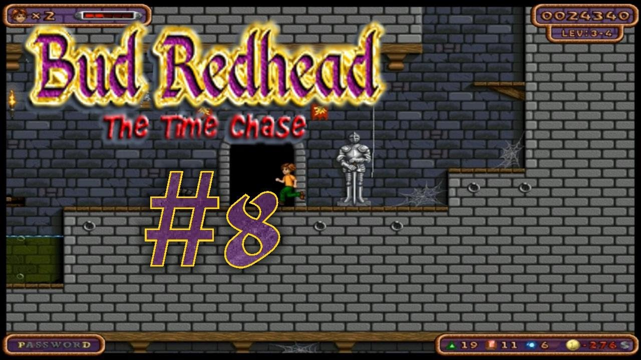 Let's Play | Bud Redhead The Time Chase | German | Part 8 | Im Inneren  einer Burg