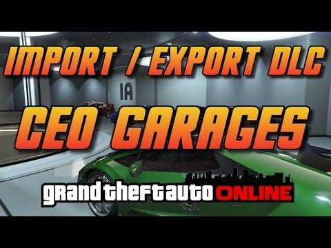 gta online gta5 import export dlc ceo garages youtube. Black Bedroom Furniture Sets. Home Design Ideas
