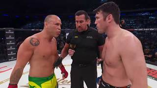 Bellator NYC Chael Sonnen vs Wanderlei Silva Fight Highlights