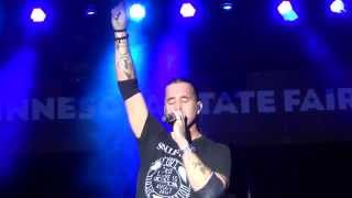 Scott Stapp of Creed Live: Dying to Live (Minnesota State Fair - 8/25/14)