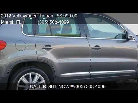 2012 Volkswagen Tiguan SE for sale in Miami, FL 33144 at Pra