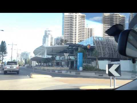 20140331 Brief Gold Coast drive, Southport through Surfers to Broadbeach