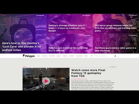 Design Mind Episode 50 - Analysis of Polygon Website