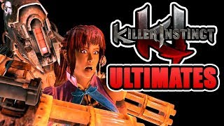 Killer Instinct 2013 - All Ultimate Combos (Fatalities) [Updated]