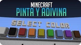 Pinta y adivina! | Minecraft