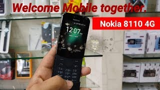 Nokia 8110 4G Unboxing & First Look !