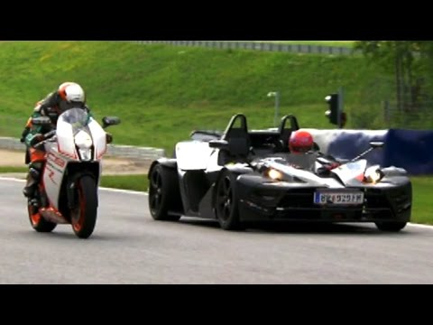 Bike VS Car Compilation - Fifth Gear