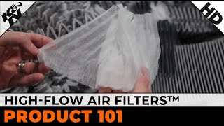 k high flow air filter product overview