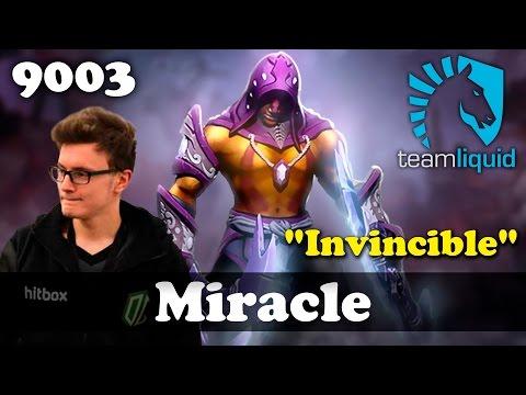 "Miracle ""Invincible"" Anti Mage   9003 MMR Dota 2"