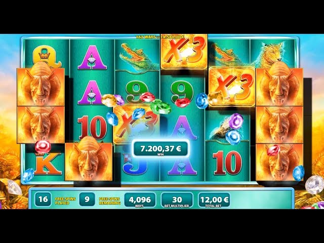My Biggest Ever Slot Bonus Win Raging Rhino