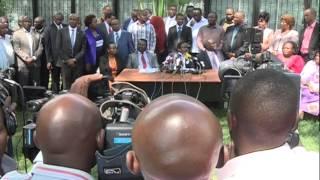 Wajumbe MCA Wamuunga Mkono Kalonzo