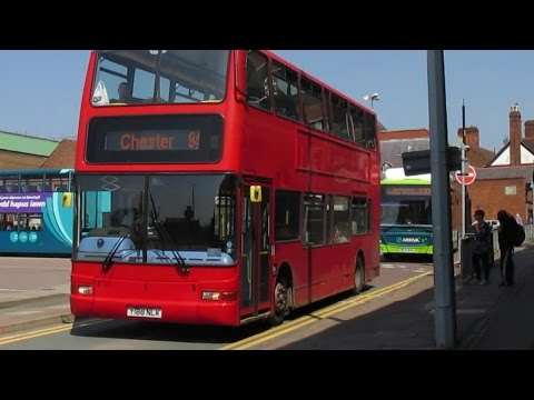 Buses & Trains at Chester - Spring 2016