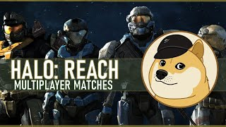 Drinks & DMRs With Eck | Halo Reach Multiplayer