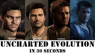 GRAPHICS EVOLUTION OF UNCHARTED IN 30 SECONDS