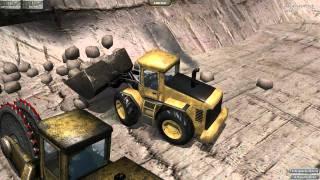 Steinbruch Simulator 2012 Mission Kieß Bestellung [PC Gameplay 2011 Deutsch/German]