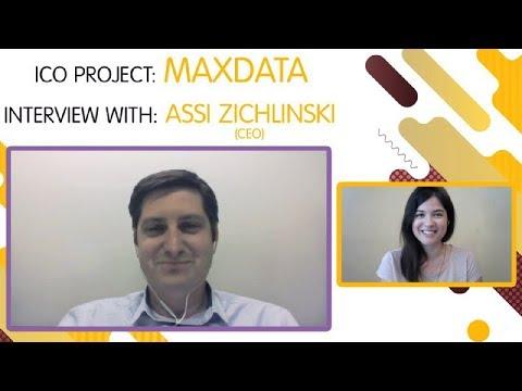 "ICO ""MAXDATA.IO""  interview with  Assi Zichlinski [ENG]"