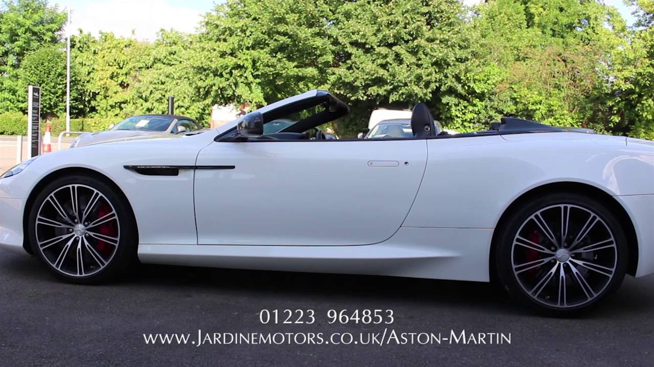 Jardine Motors Group | Aston Martin DB9 Carbon Volante | Lancaster