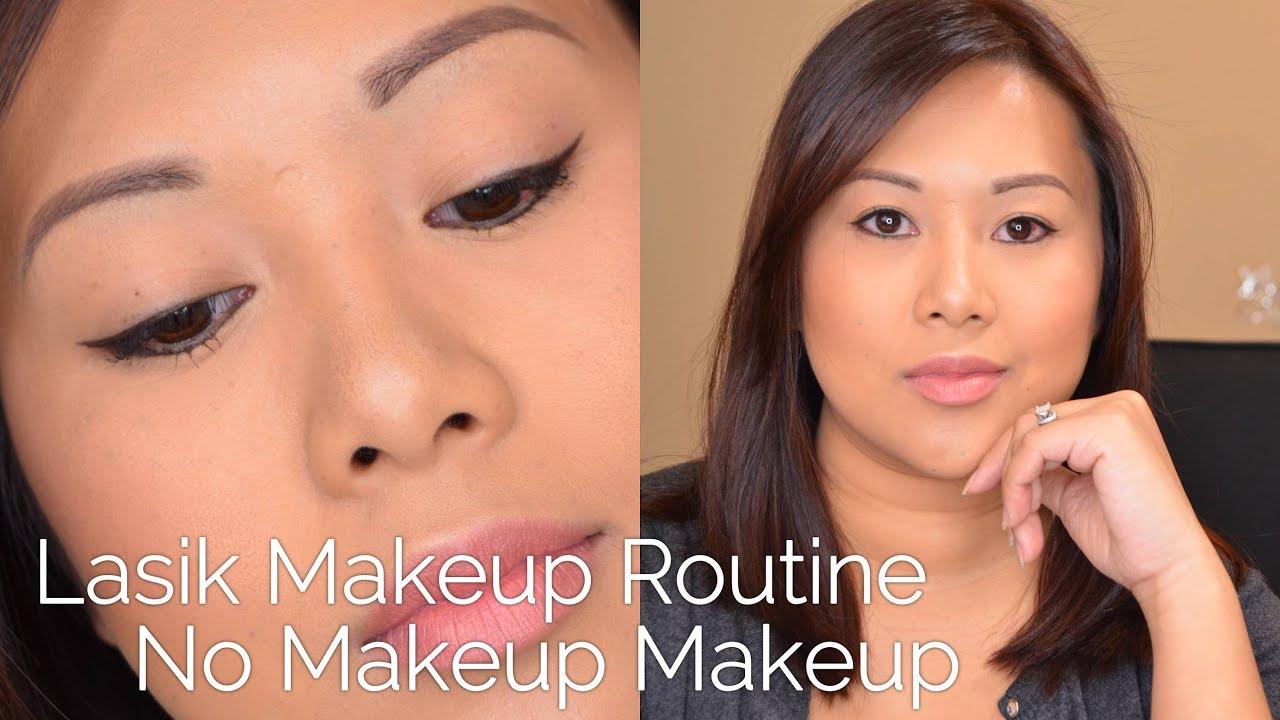 Lasik Full Face Makeup + 1 Week Post-Op Tips