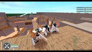 Roblox#20 Attack On Titan