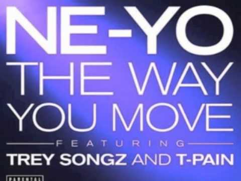 Ne-Yo Feat. Trey Songz & T-Pain - The Way You Move (Chopped & Screwed By Slim K) (DL INSIDE!!)