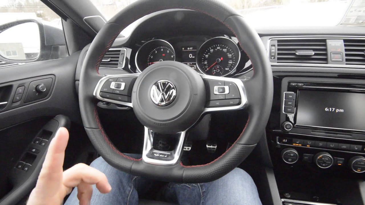BRAND NEW 2015 Volkswagen Jetta GLI SE MANUAL Walk-Around Trend Motors VW Rockaway, NJ - YouTube