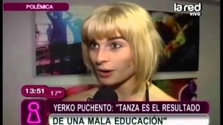 yerko puchento se fue en picada contra tanza varela