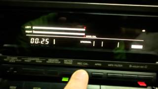 Technics RS BX 727   калибруйка