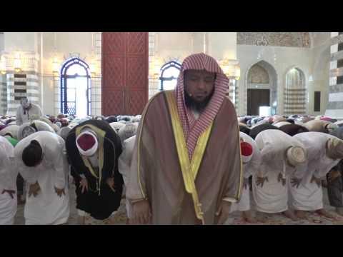 صلاة الجمعة للشيخ سعد النعماني بجامع محمد الامين thumbnail