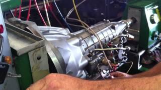 btr on the transmission dyno