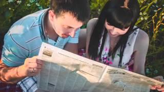 Копия видео Бумажная свадьба. Фотосессия. Вторая годовщина свадьбы.