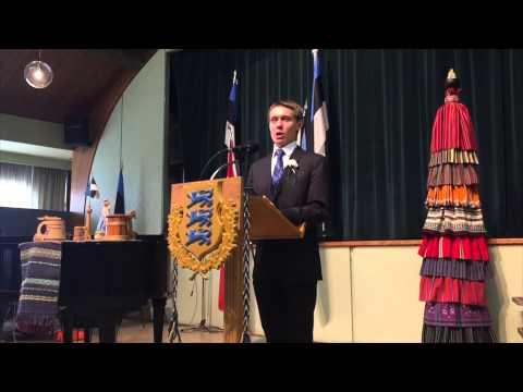 Eesti Vabariigi 97. aastapäeva aktus Toronto Eesti Majas - 2015