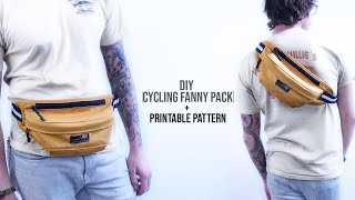 Cycling Fanny Pack DIY