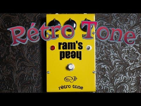 Retro tone ram's head demo