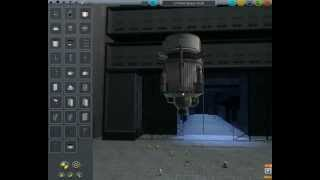 Kerbal Space Program #3 - Voyage To The Mun 1/4 - (Building The Lander & Launch Vehicle)