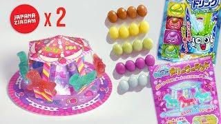 Żelkowa karuzela i cukierki zmieniające smak! 2 zestawy JAPANA zjadam #126 | Agnieszka Grzelak Vlog