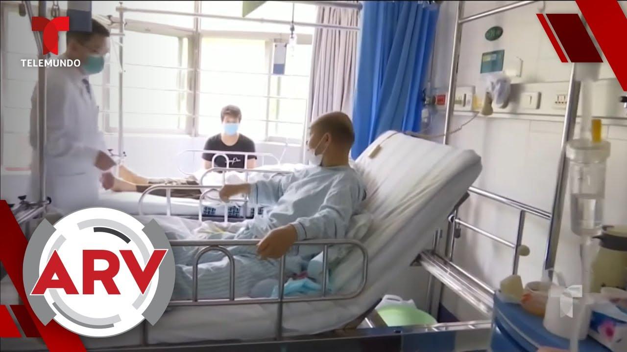 USA human test experimental vaccine against COVID-19 | Al Rojo Alivo | Telemundo thumbnail