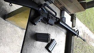 実弾射撃 コルト M16A1 アサルトライフル (Colt M16A1 Assault Rifle)