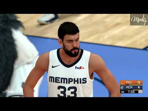 NBA 2K19 - Devin Booker Drops 44 Points vs Memphis Grizzlies !!!!!