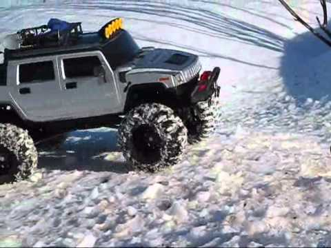 Extreme Hummer Axial SCX10